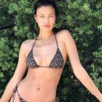 Irina Shayk's String Bikini Is So Sexy, It'll Stop You Dead in Your Tracks