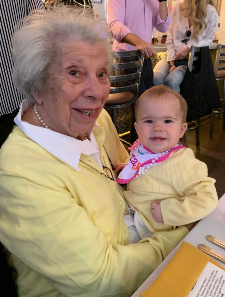 New York Great-Grandmother Celebrates 100th Birthday Alongside Her 1-Year-Old Great-Granddaughter