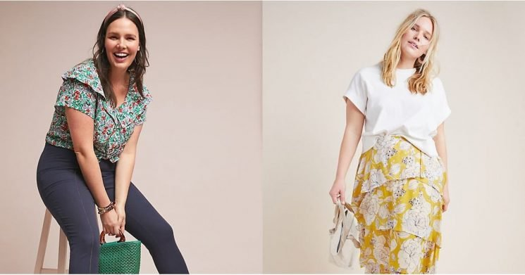 Anthropologie's New Line For Curvy Girls Is All Your Spring Wardrobe Could Ask For —Shop It Now!