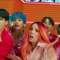 BTS Parties With Halsey in 'Boy With Luv' Video