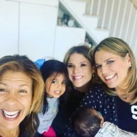 Jenna Bush Hager and Savannah Guthrie Meet Hoda Kotb's Baby as She Thanks Fans for Their 'Love'