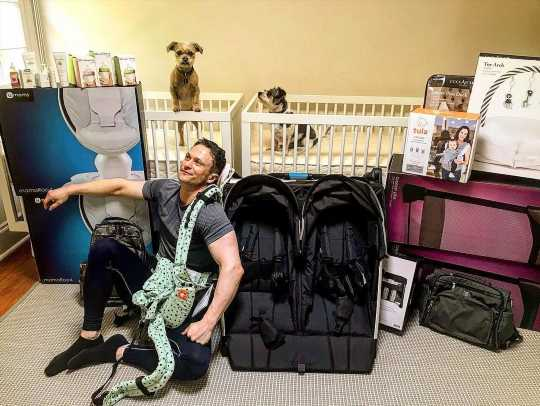 It'll Be Twins for Kingdom Alum Jonathan Tucker and Pregnant Wife Tara: 'This Is Real Life'