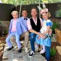 'The Four Burtka-Harris Bunnies': See Neil Patrick Harris' Adorable Family in Their Easter Best