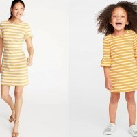 8 Adorable (and Affordable!) Spring Outfits from Old Navy That Let You Match with Your Mini