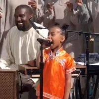North West Performs and Steals the Show at Kanye's Sunday Service