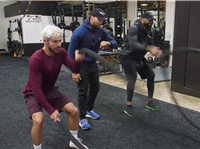 Zac Efron Wanted to Find Out How an NFLer Trains in the Offseason. And it's Brutal.