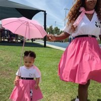 Serena Williams and Daughter Alexis Olympia Are Pretty in Pink in Sweet Twinning Photo