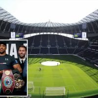 Spurs want Anthony Joshua to fight at their new stadium when heavyweight champ returns to UK later this year