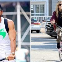 Celebrities Who Love Riding Bicycles