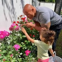 Dwayne Johnson Documents Family Egg Hunt While Revealing He Doesn't Give His Kids Easter Candy