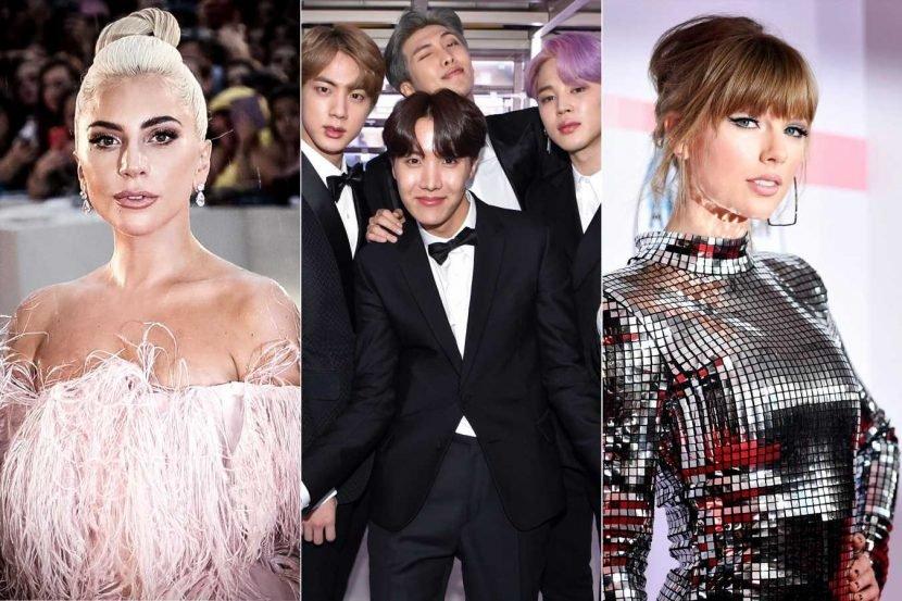 BTS, Lady Gaga, Taylor Swift on 2019 Time 100 list