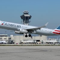 American Airlines flight forced to return to New York airport after striking 'object'