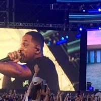 The fresh prince arrives: Will Smith joins son Jaden to perform 'Icon' at Coachella