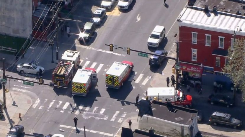 6 injured after driver 'intentionally' plows into people on Philadelphia street after altercation, police say