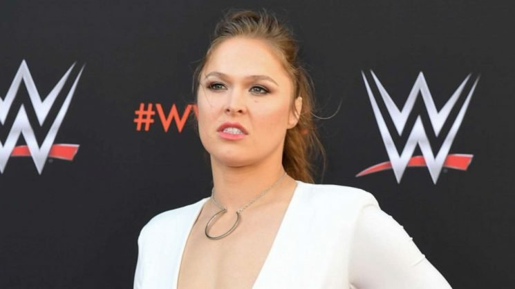WrestleMania 35: Becky Lynch defeats Ronda Rousey in first-ever all-women main event
