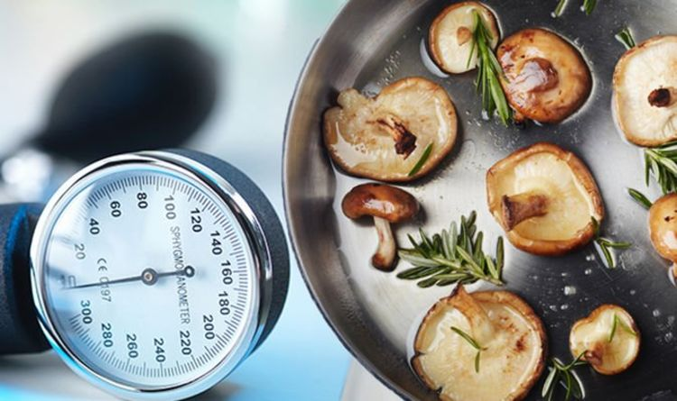 High blood pressure: Eating a particular type of mushroom could help to lower your reading