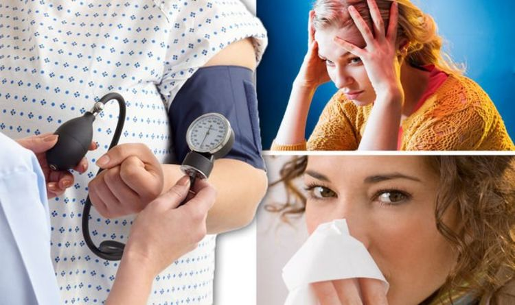 High blood pressure warning – four of the most common signs and symptoms of hypertension
