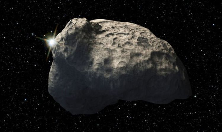 NASA asteroid tracker: LOOK OUT as asteroid scrapes past CLOSER than Moon at 12,500MPH