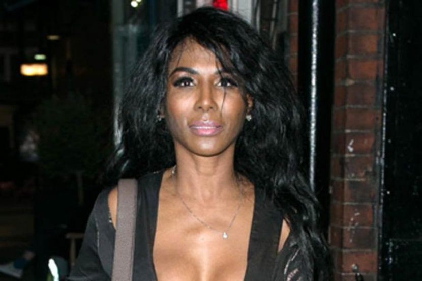 Simon Cowell's pal Sinitta, 55, parades assets in COMPLETELY frontless minidress