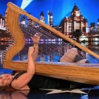 Britain's Got Talent viewers left gobsmacked as contestant simulates SEX with harp