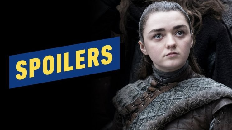 Game of Thrones: Maisie Williams Thought Arya and Gendry's Big Scene Was a Prank