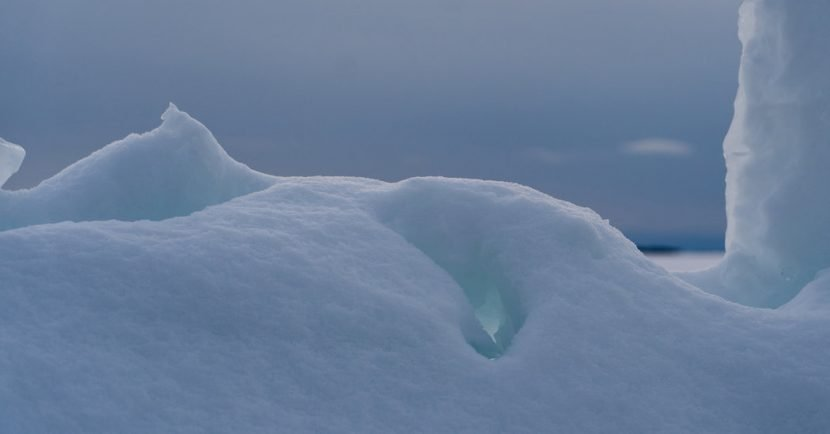 In Ontario's Ice Caves, Nature Sculpts Beauty from Wind, Waves and Cold