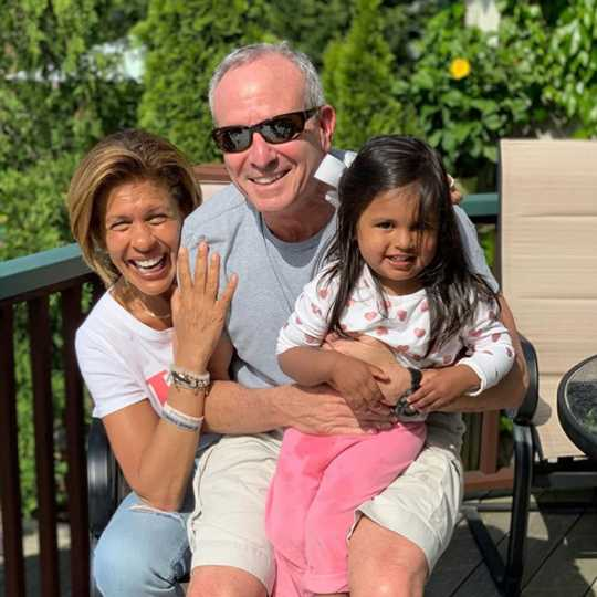 Hoda Kotb And Daughter Haley Enjoy Sunny Beach Day In