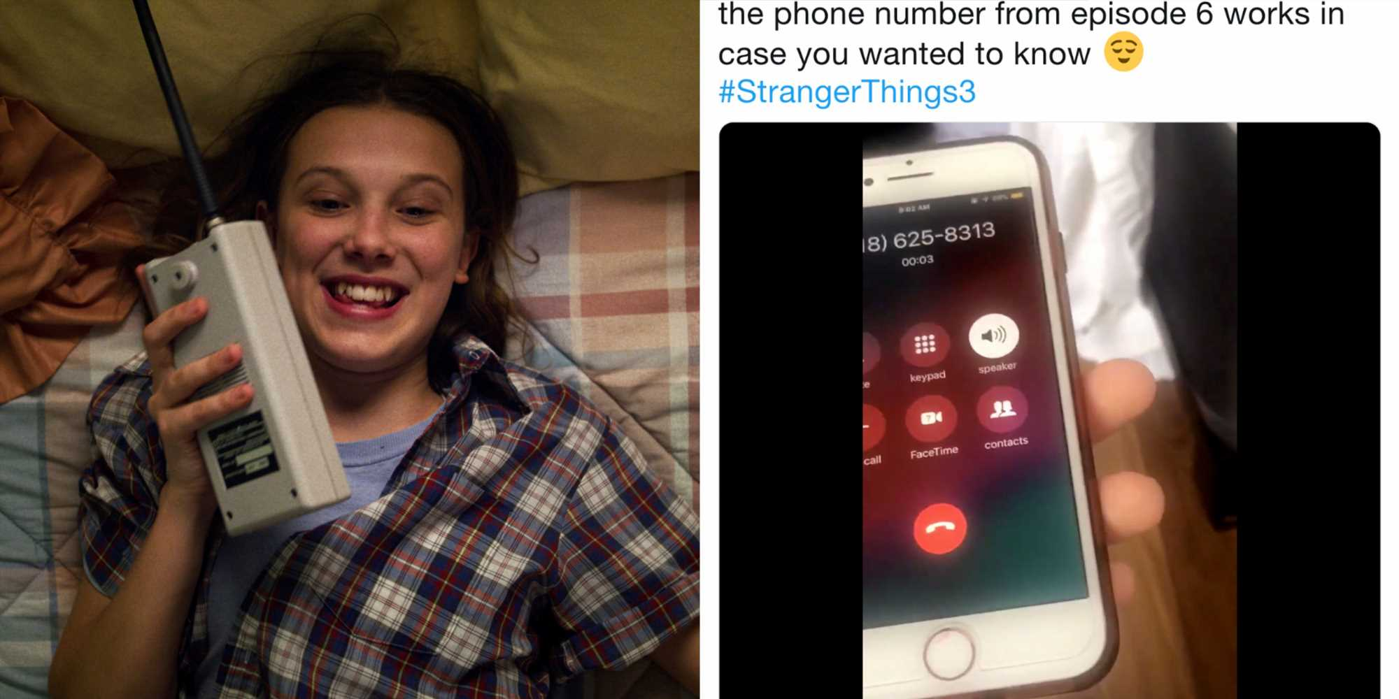 The Phone Number in Stranger Things 3 Is Real and You Should Call It
