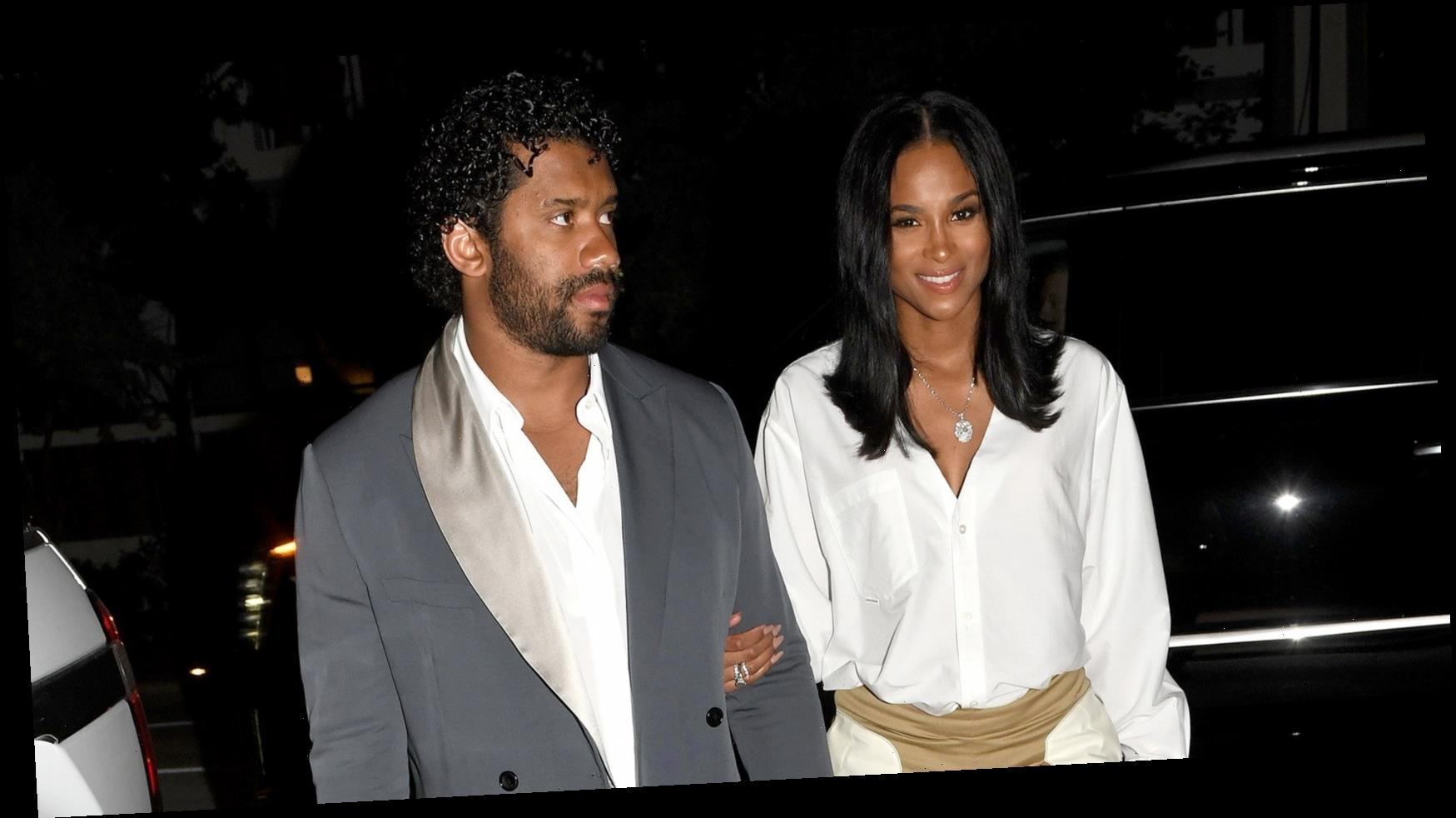 Ciara and Seattle Seahawks Quarterback Russell Wilson