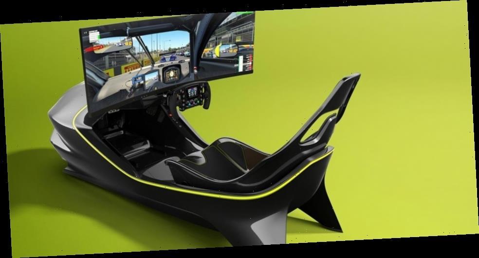 Aston Martin Creates A 75 000 Usd Carbon Monocoque Racing Simulator Wstale Com